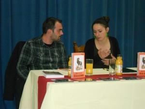 Sa moderatorkom Irenom Berom