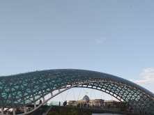 Bridge of Peace tbilisi